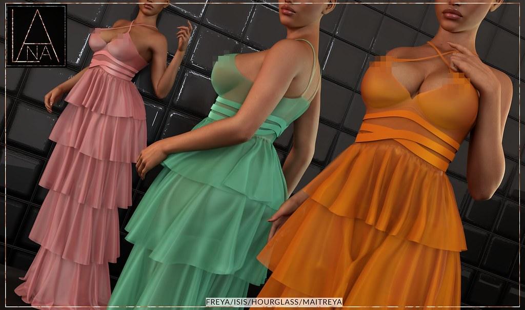 #LANA // The Chauveau Dress ♥
