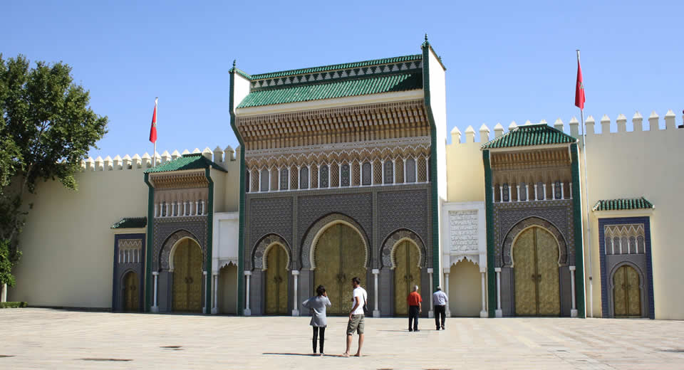 Bezienswaardigheden Fez, Marokko: Koninklijk Paleis Fez | Mooistestedentrips.nl