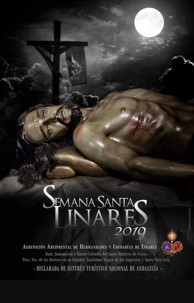 Cartel de la Semana Santa de Linares 2019