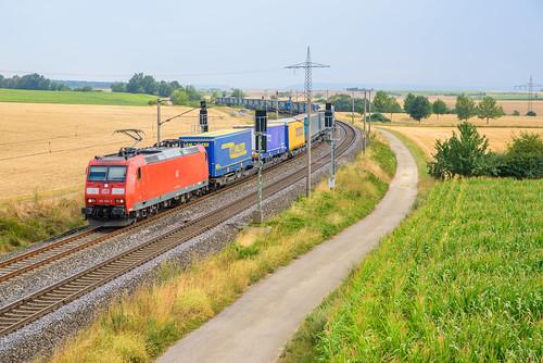 DBC 185 168 met LKW Walter, Gallmersgarten