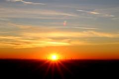 Sonnenuntergang Hülser Berg