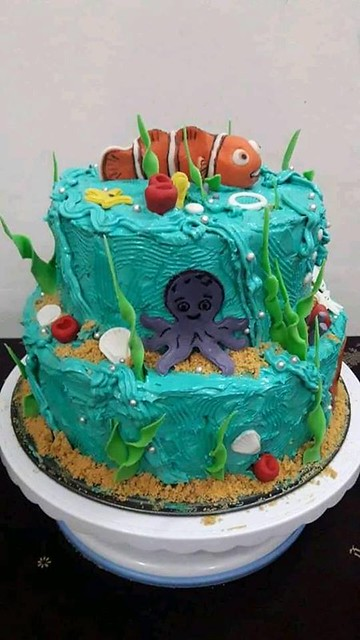 Neemo Theme Cake by Rubena Raihan of Rubena's Cake and Delight
