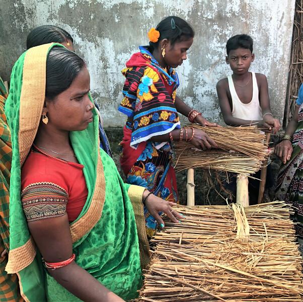Mujer y pobreza, India