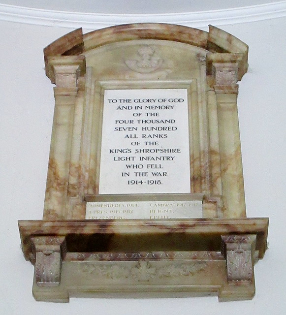 St Chad's Great War Memorial