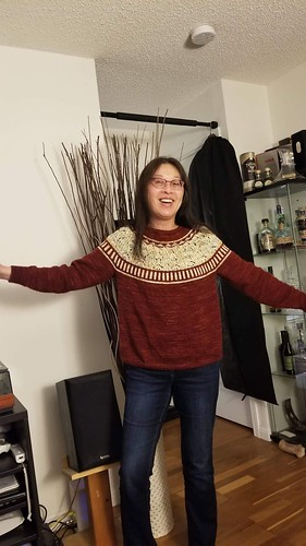 Mary's Zweig rocks!! Knit using Koigu