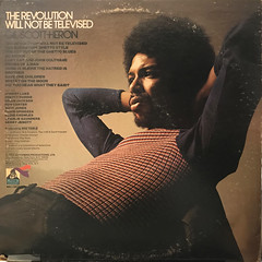 GIL SCOTT-HERON:THE REVOLUTON WILL NOT BE TELEVISED(JACKET B)