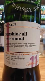 SMWS 54.73 - Sunshine all year round
