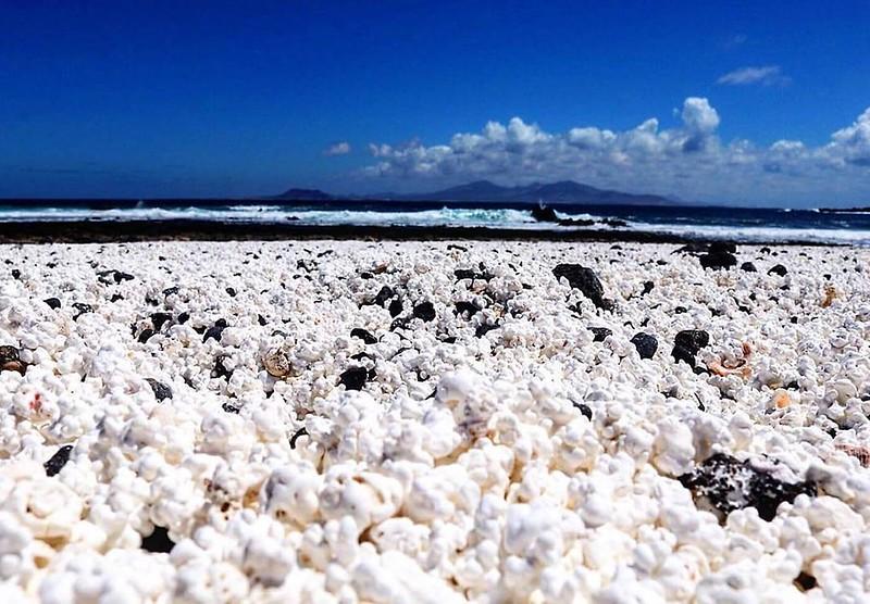 Playa palomitas de maíz