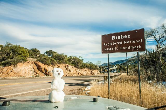 Arizona Snowman