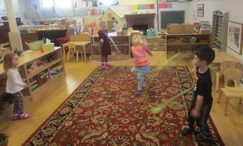 whirling and twirling