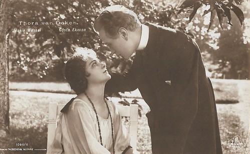 Jessie Wessel and Gösta Ekman in Thora van Deken