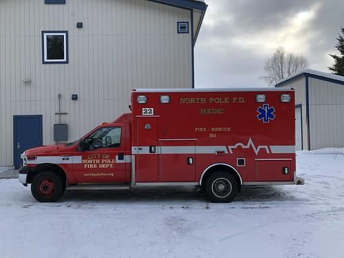 North Pole Fire Dept. Medic 22
