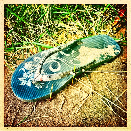 A faded Flip-flop