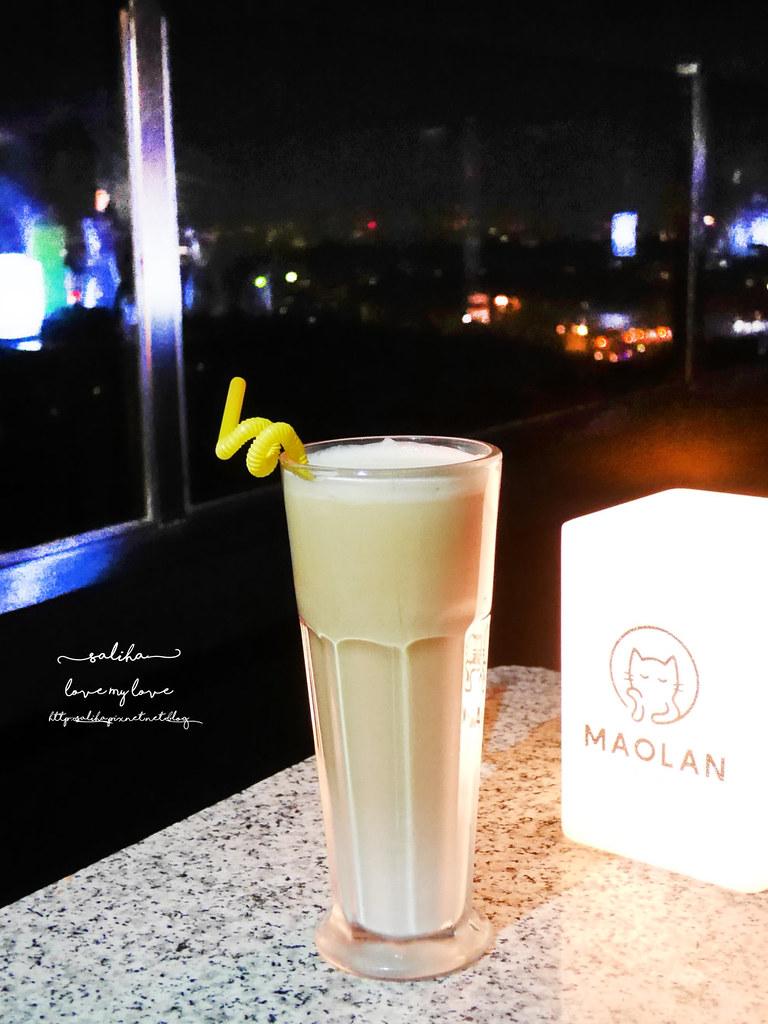 台北文山區貓空看夜景景觀餐廳咖啡貓懶MAOLAN餐點下午茶 (2)