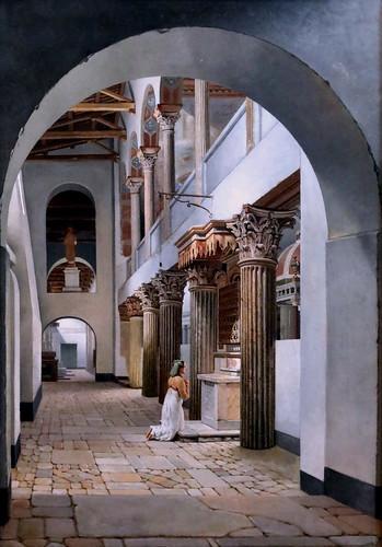 , IMG_4386 CW Eckersberg 1783-1853 Copenhague San Lorenzo fuori le mura  at Roma 1815 Copenhague Collection Hirschsprung, Family Blog 2020, Family Blog 2020
