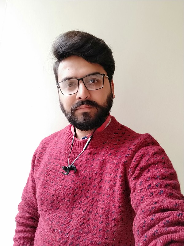 Selfie in daylight with Realme 2 Pro