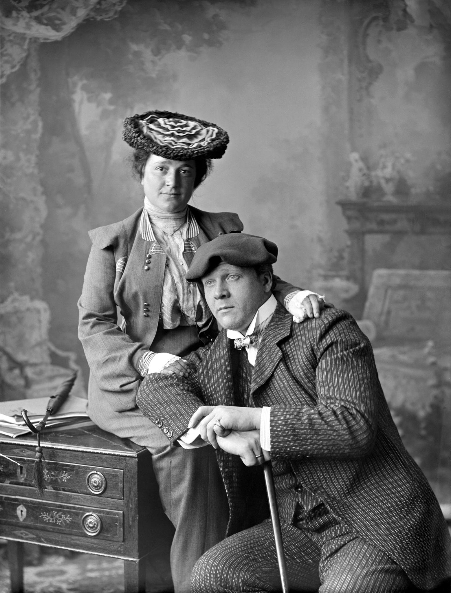 Федор Шаляпин с женой