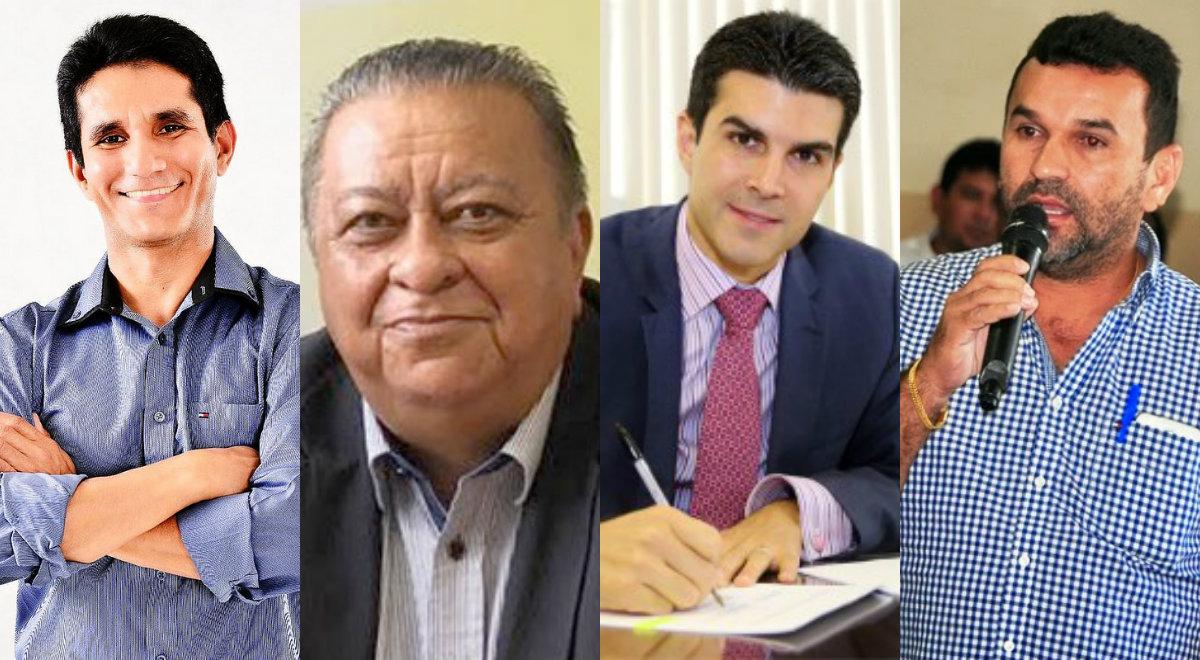 8 rapidinhas. Decreto fecha rádio no Pará, Helder libera R$ 4,2 mi para FPF, prefeito não disputará reeleição..., Macedo, Luduger, Helder e Erlon