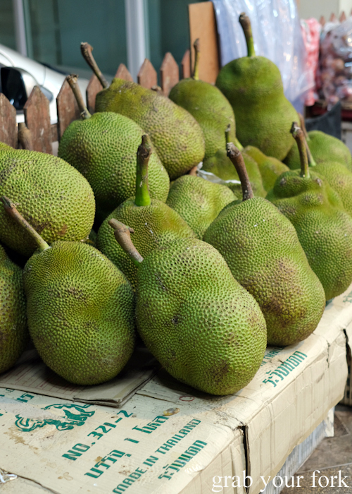 Fresh jackfruit in Phuket Thailand