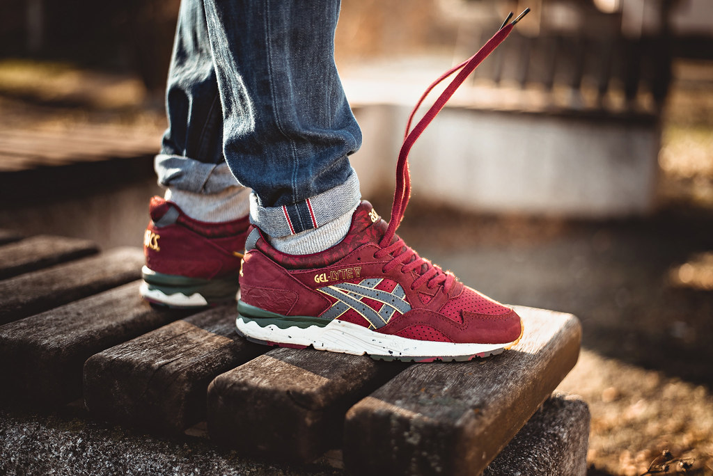 Asics Gel Lyte V x The Good Will Out
