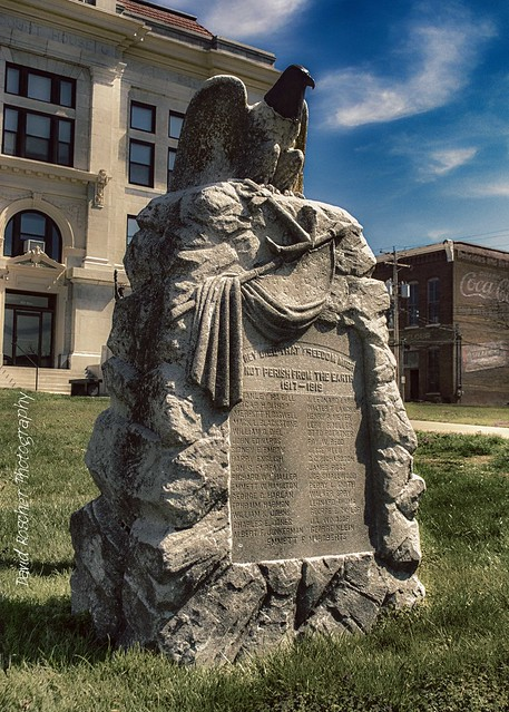 Cooper County, Mo World War 1 monument