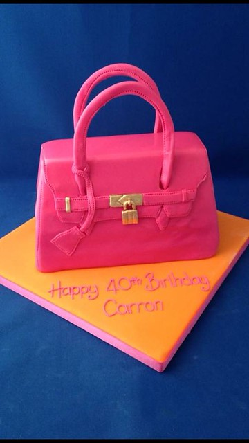 Handbag Cake by Creative Cakes