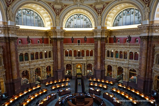Inside the Library of Congress Washington DC