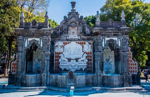 2018 - Mexico - Puebla - Fuente de Motolinia