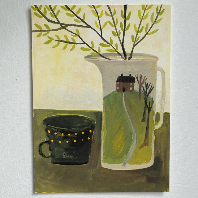 house on the hill jug
