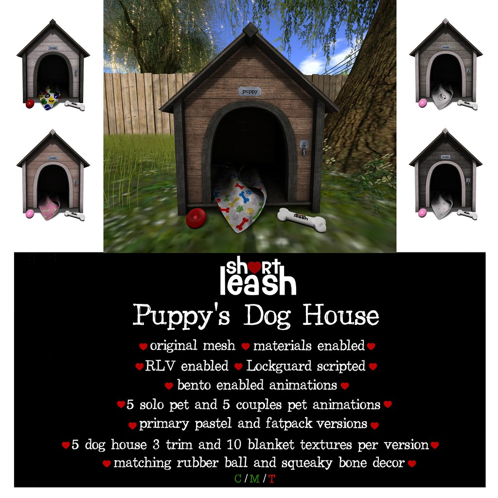 .:Short Leash:. Puppy's Dog House - TeleportHub.com Live!