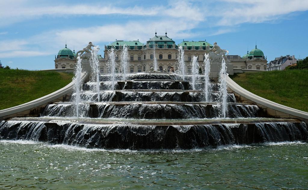 Belvedere Palace & Gardens, Vienna, Austria