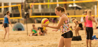 Beach volleyball. | by Alex-de-Haas