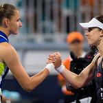 Karolina Pliskova, Alize Cornet