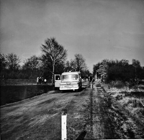 Wolfheze Heelsum Aangestoken heidebrand 13 maart 1965 2 Collectie Dies Kosters