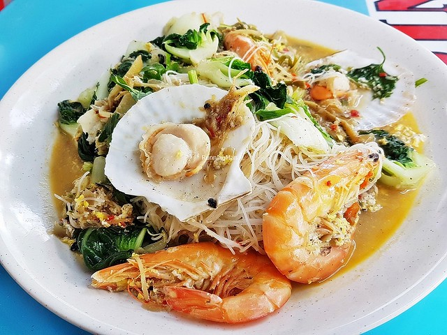 Prawn Scallops Black Pepper Bee Hoon