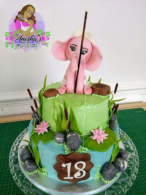 Cake by Anesha's Art of Cakes Anesha's Art of Cakes
