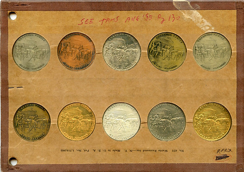 so-called half dollars sample set obverse
