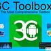 تطبيق 3C Toolbox Pro v1.9.9.7.5 لإدارة الهاتف للأندرويد مجاناً