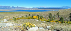 Crowley Lake Panorama, Sierra Nevada, CA 2017