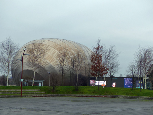 Armadillo, clyde auditorium