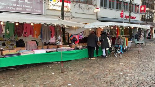 Besuch Wochenmarkt Dudweiler kurz