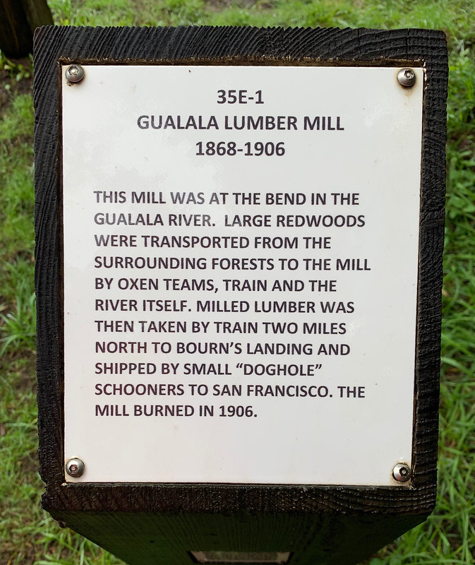 Gualala Lumber Mill