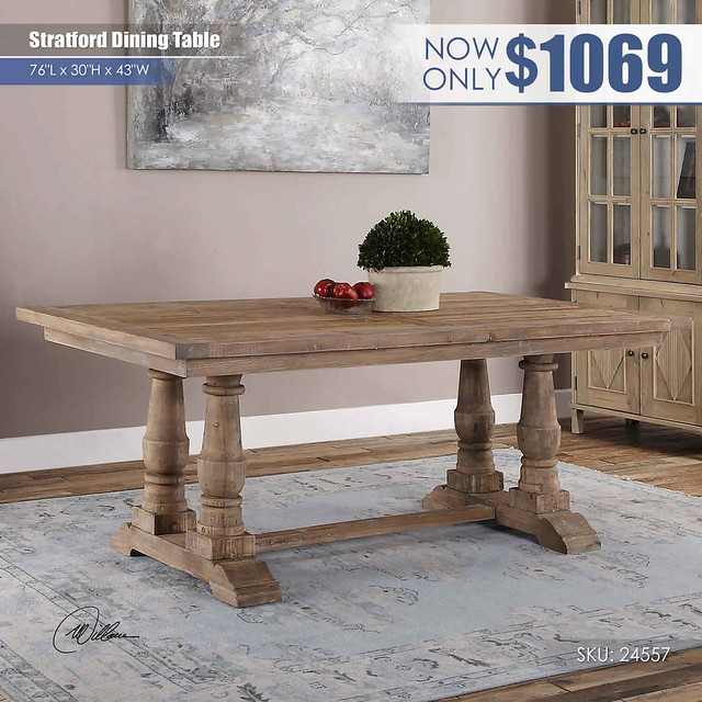 Stratford Dining Table_24557