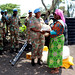 Lieutenant Colonel Tiisetso Sekgobela from South Africa serves with MONUSCO in the DRC