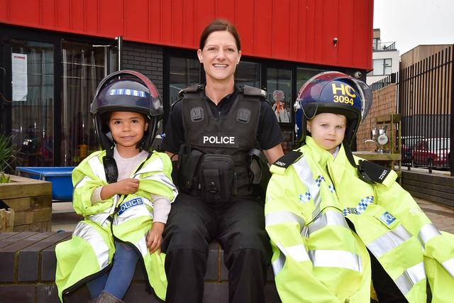 Police visit Preschool