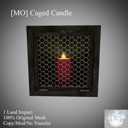 [MO] Caged Candle