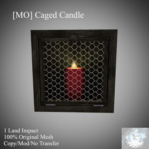 [MO] Caged Candle - TeleportHub.com Live!
