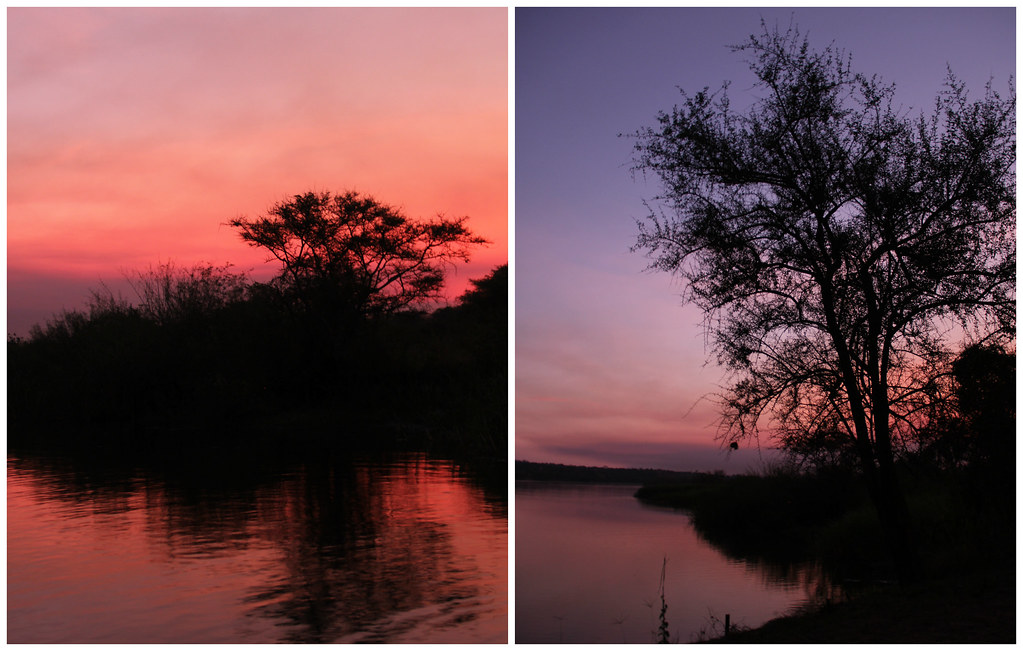 African sunrises, Murchison Falls National Park