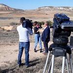 Grabación del programa Ancha es Castilla la Mancha en las lagunas de La Guardia (Toledo) 22-3-2019