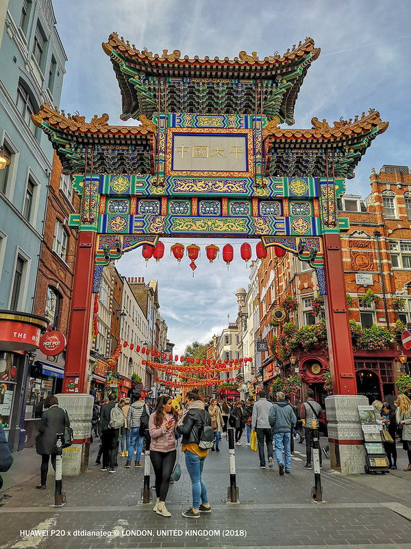2018 London Chinatown